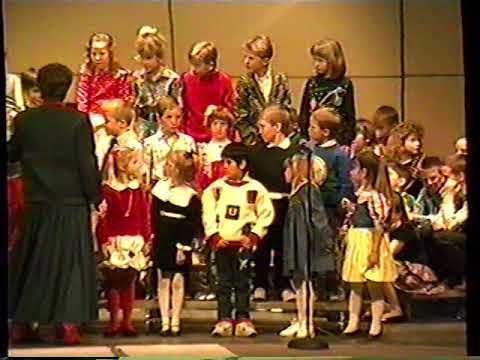 Olmsted Elementary School Music Program 1-18-1990 (clip 1of3)