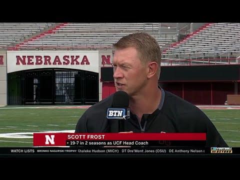 BTN Bus Tour: Scott Frost | Nebraska | Big Ten Football