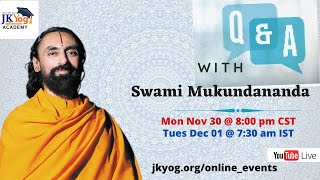 Ask Swamiji - Exclusive Q & A with Swami Mukundananda on the Science of Mind Management