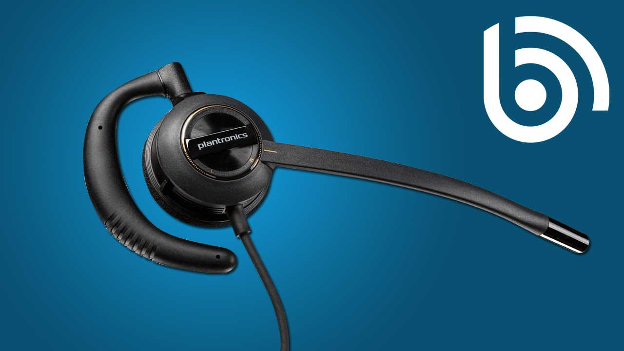 How to use the Plantronics EncorePro HW530 headset