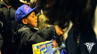 Carmelo Anthony | 5th annual A Very Melo Christmas Event