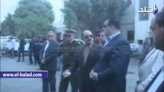 بالفيديو والصور.. جولة ميدانية لمحافظ الفيوم ومدير الأمن بوسط المدينة
