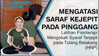 Sakit Pinggang Saraf Kejepit Tuntas Dengan Endoskopi PSLD.