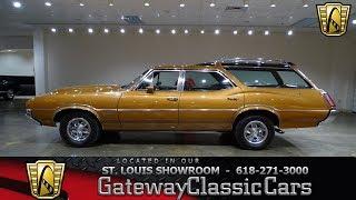 1971 Oldsmobile Vista Cruiser Wagon Stock #7593 Gateway Classic Cars St. Louis Showroom