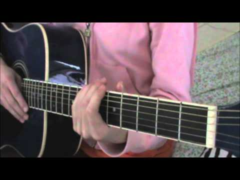 Easy Guitar Tutorial For UNCONDITIONALLY BY KATY PERRY!!!! - YouTube