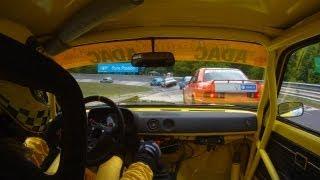 24h classic - Opel Kadett C Coupe Onboard