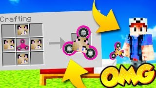 JAK ZROBIĆ BELLA FIDGET SPINNER W MINECRAFT BED WARS! /KITTYBELLA