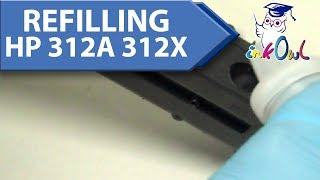 How to Refill HP 312A, 312X Cartridges for M476, M476dn, M476dw, M476nw Printers