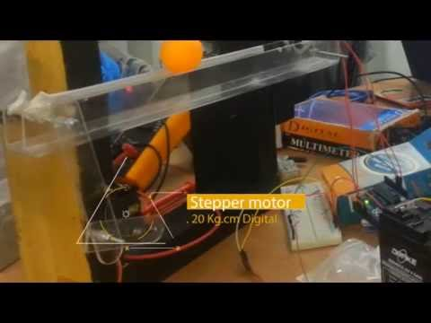 Ball Balancing project with PID controller