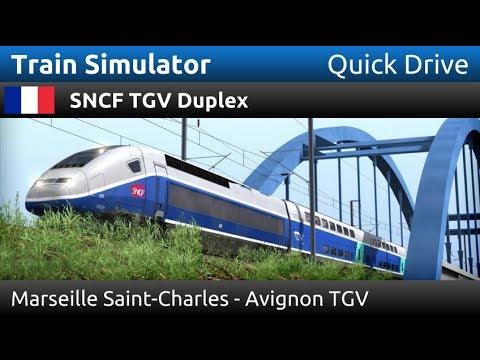 Train Simulator: SNCF TGV Duplex: Marseille Saint-Charles - Avignon TGV (Quick Drive)