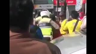 Jambret bernasip Sial didepan Mall ditangkap Warga Pekanbaru Riau