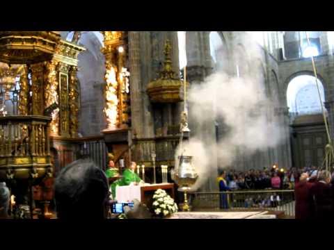 Botafumeiro en la Catedral de Santiago de Compostela / Cathedral of Santiago de Compostela