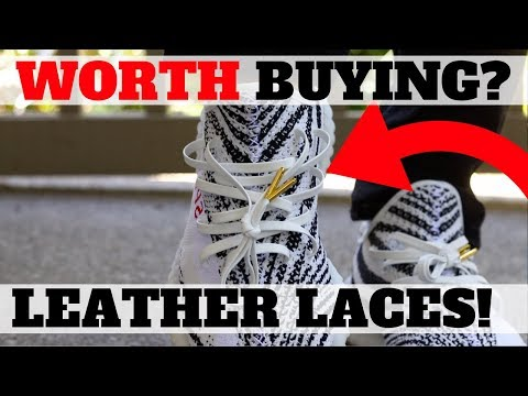 ARE PREMIUM LEATHER SHOE LACES WORTH BUYING?! MY THOUGHTS!