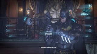 Batman: Arkham Knight - Iceberg Lounge 12 .6 million points + 865x combo + Killer Croc + Nightwing