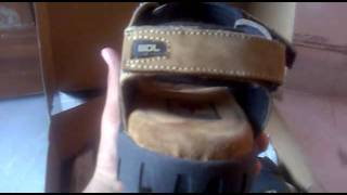 woodland sandals unboxing