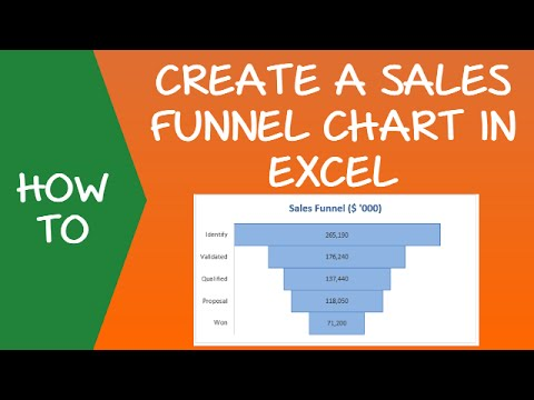 How To Create A Sales Funnel Chart In Excel