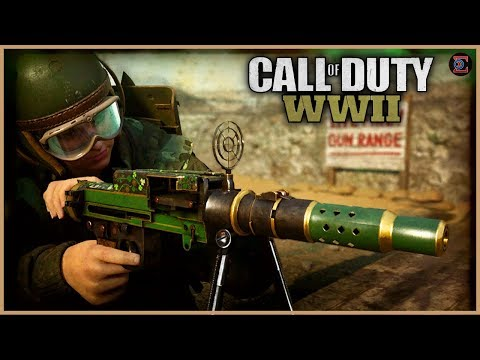 UNLOCKING CHROME CAMO  on MG81 LMG  in Call of Duty: WW2