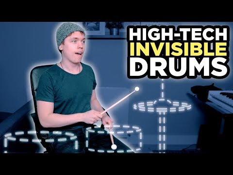 I Recorded A Song With High-Tech Invisible Drums