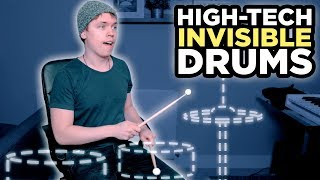 Download I Recorded A Song With High-Tech Invisible Drums Mp3 and Videos