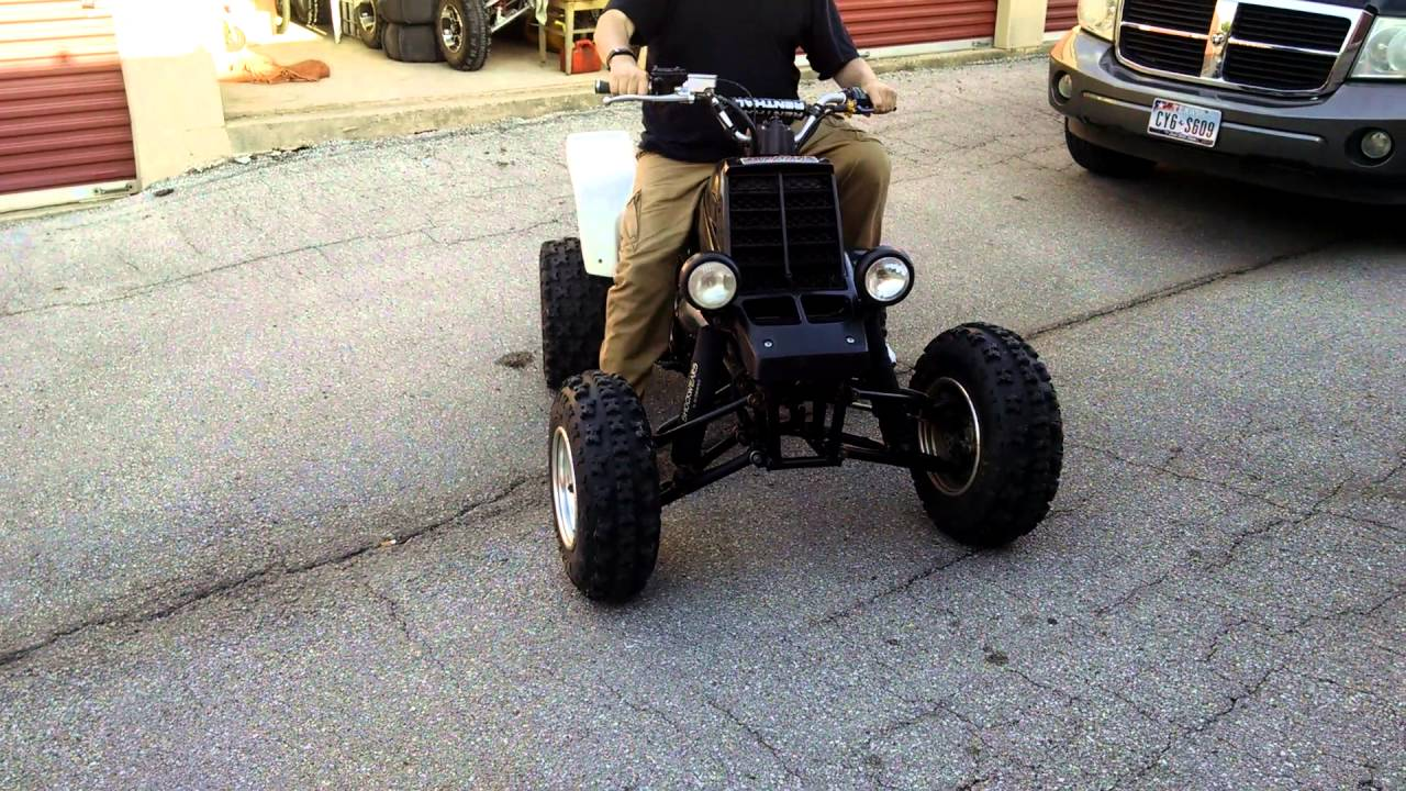 COLD STart YAMAHA BANSHEE WITH BIG BORE 392 / TOOMEY EXHAUST / T5 PIPES