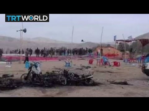 Breaking News: Deadly blast at election rally in Afghanistan