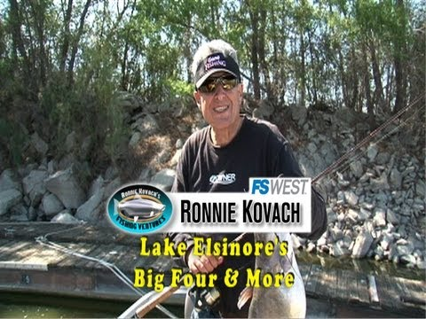 Lake Elsinore's Big Four & More - Ronnie Kovach's Fishing Ventures