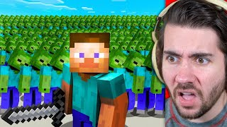 Killing 1,000,000,000 Mobs Alone In Minecraft!