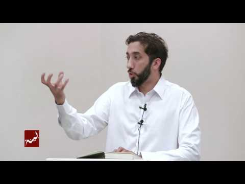 A Quranic Lesson in Religious Psychology - Khutbah by Nouman Ali Khan