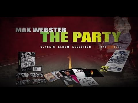 Max Webster - The Party Box Set Featuring Kim Mitchell's 'Deep Dive' (Alternate Take)