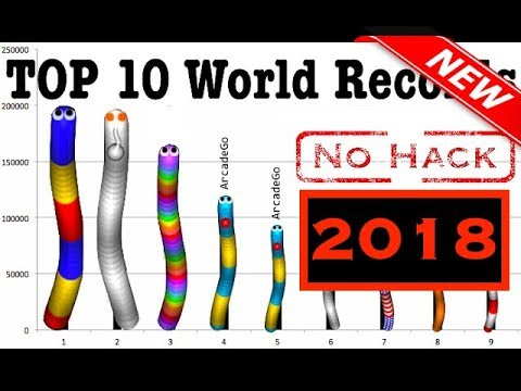 Slither.io | #1 – TOP 10 NEW World Records Ranking Hall Of Fame Compilation [No MOD No Hack No zoom]