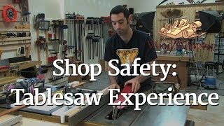 51 - Shop Safety: Tablesaw Experience