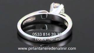 En Ucuz Pırlanta Yüzük Fiyatları, Pırlanta Yüzük Modelleri, Roz Diamond 3D