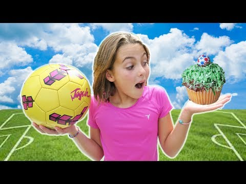 Thumbnail: How To Make DIY Soccer Cupcakes w/ Chef Ava | Futbol Cupcake | Kids Cooking and Crafts In Costa Rica