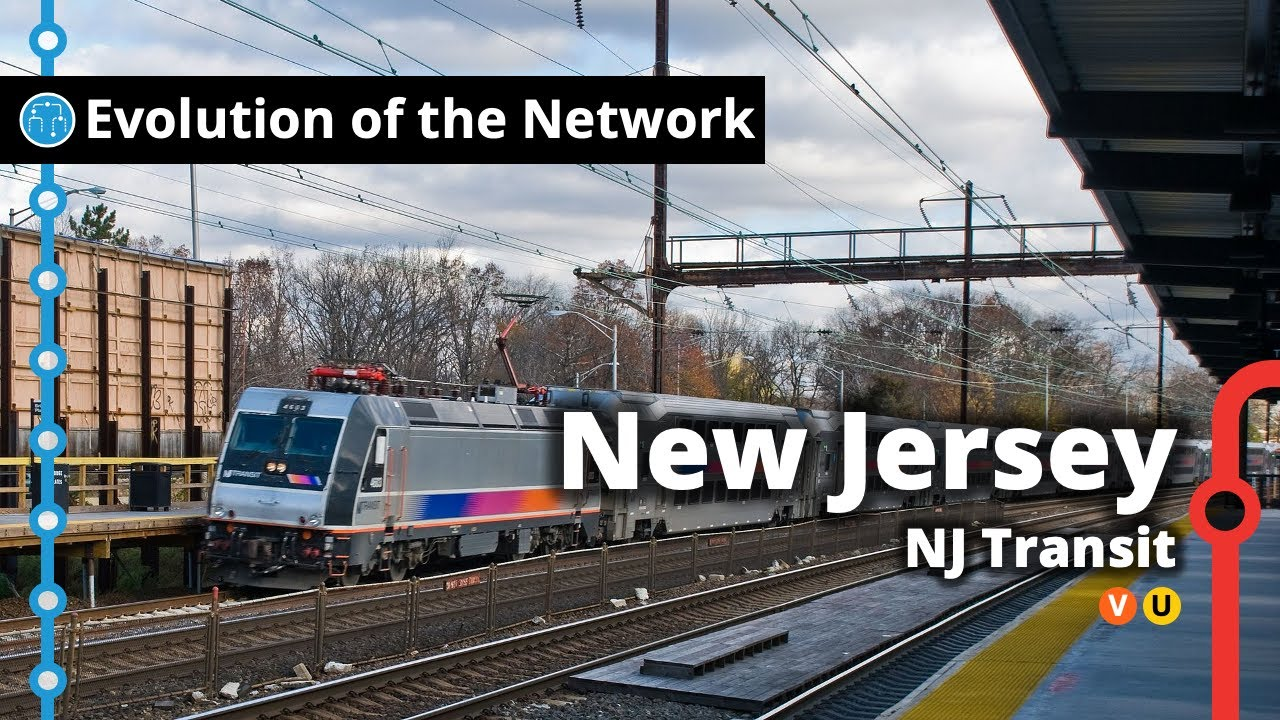 New Jersey's Commuter Rail Network Evolution