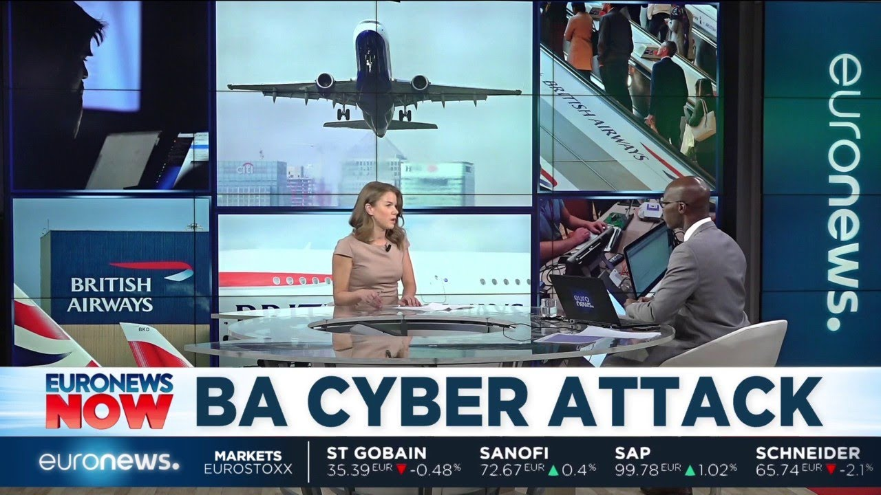 British Airways cyber attack
