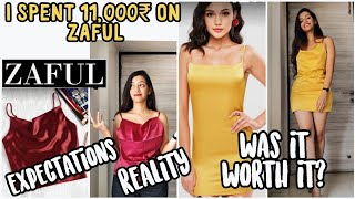 I spent ₹11,000 on Zaful Was it worth it? Try On Haul + Review My first time Expectations vs Reality