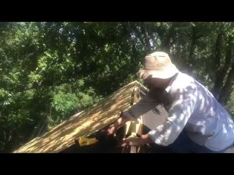 Building a storage room with carport youtube for Carport with storage room