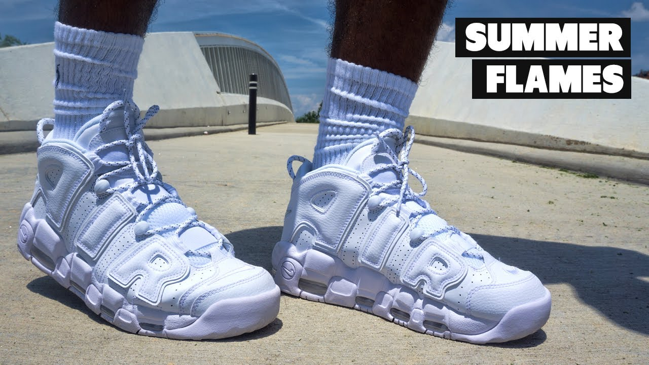 235ed6312f You Need These For The Summer - Nike Air More Uptempo Triple White | Review  + On Foot