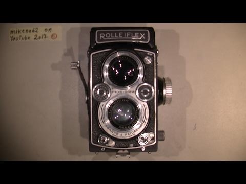 Sticky shutter in Rolleiflex 75mm 1:3.5