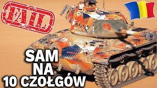 SAM na 10 CZOŁGÓW - Bitwa o 14 FRAGÓW - World of Tanks