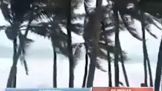 Фото На видео показали что творит тайфун который несется на Приморье