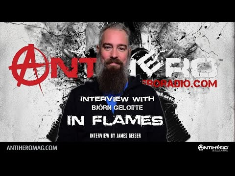 Carolina Rebellion 2017: Interview with Björn Gelotte of In Flames