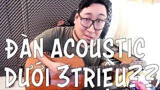 [Review] Đàn Acoustic Magna M-91 Nat: Đàn mới cho tầm giá dưới 3tr