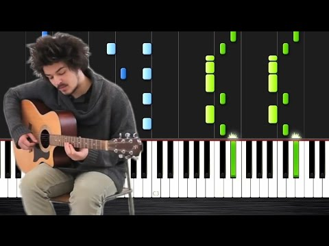 Milky Chance - Stolen Dance - Piano Tutorial by PlutaX