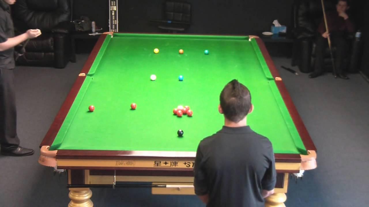 Vijay Randal Break QLD Handicap On Pro STAR Table YouTube - Star pool table