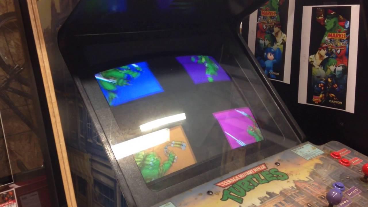 Ninja Turtles Arcade Cabinet Teenage Mutant Ninja Turtles Arcade Sound Issues Fixed Youtube