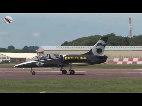 Fairford Airshow Arrivals Part 2 With ATC Radio Airshow World