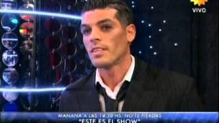 CRISTIAN U vs MARIANA NANNIS - Pelea en vivo - SHOWMATCH 130812