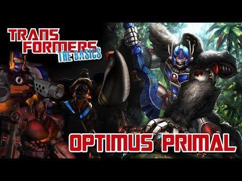 TRANSFORMERS: THE BASICS on OPTIMUS PRIMAL
