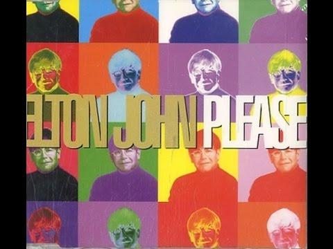 Elton John - Please (1995) With Lyrics!